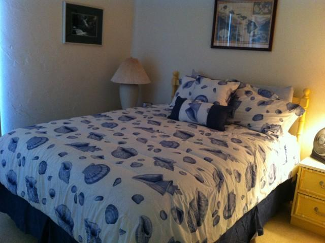 Queen Size Bed in the Guest Bedroom